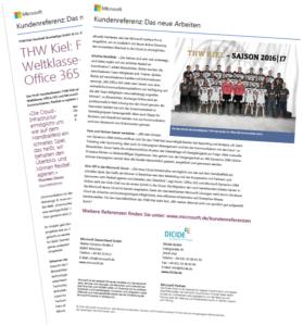 THW Kiel setzt auf Office 365