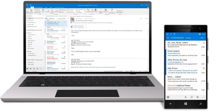 Sichere und professionelle E-Mail Kommunikation für Unternehmen: Dicide managed Exchange