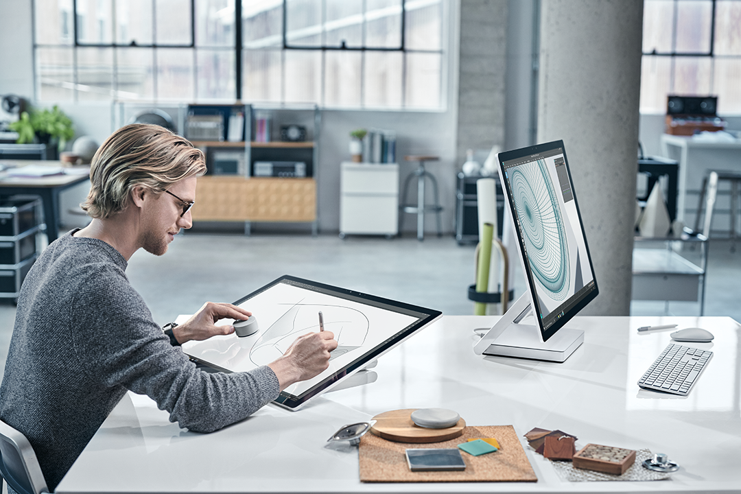 Microsoft Surface Studio mit Dial