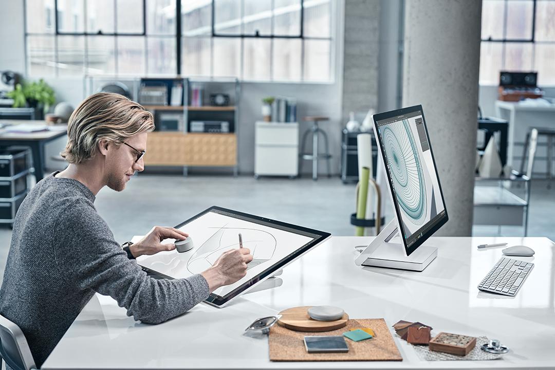 Microsoft Surface Studio mit Dial