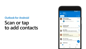 Scan to Outlook Mobile