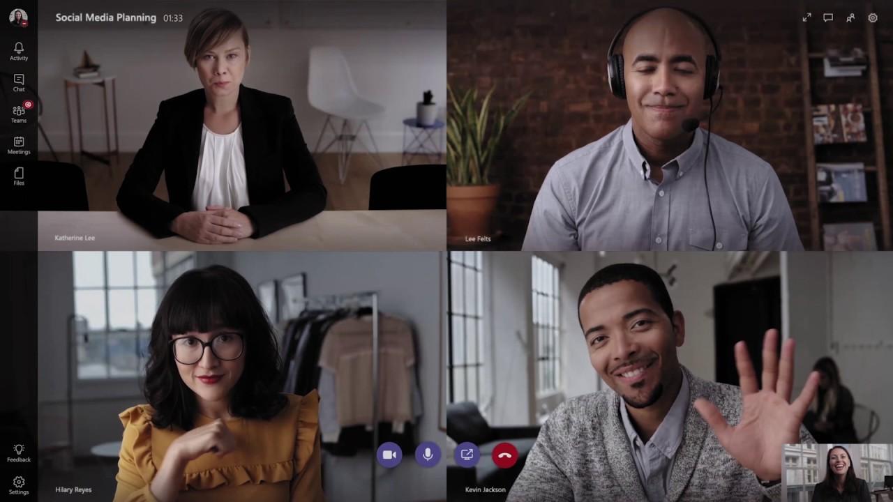 Microsoft Teams Videokonferenzen