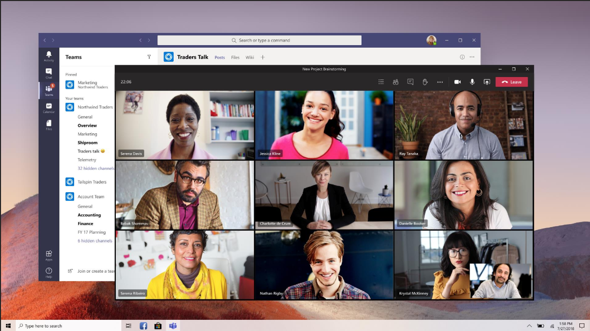 Mehr-als-4-Videos-in-Microsoft-Teams